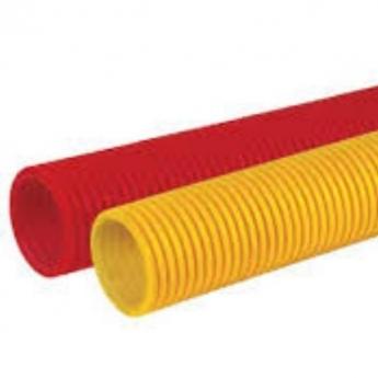 Rebraste PVC cevi