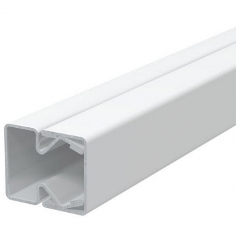Cable trunking with external cover