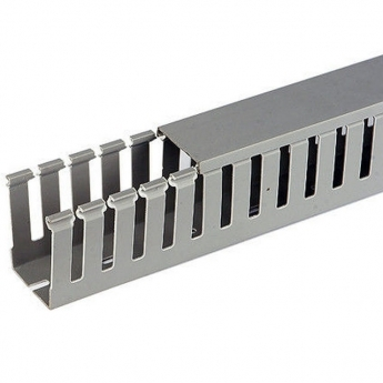 Perforated cable trunking